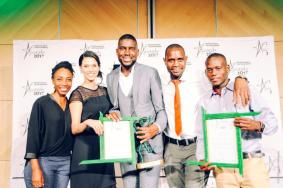 Winners of the second Sustainable Development Awards