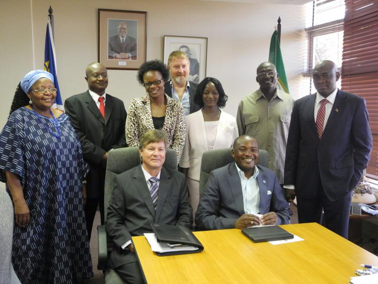 The Inauguration of the Sustainable Development Advisory Council in January 2013